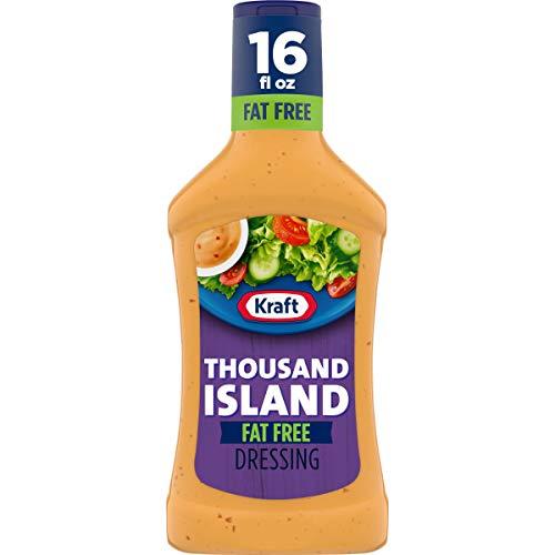 Kraft Thousand Island Fat Free Salad Dressing (16 fl oz Bottle)