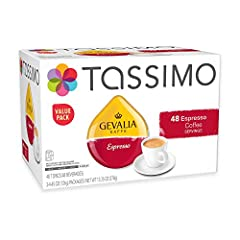Gevalia Espresso lets you enjoy the intense, extra-bold flavor and exquisite aroma of a strong-bodied roast that will satisfy any discerning palate sip after delightful sip Made from choice 100% Arabica beans Each T DISC contains a precisely measured...