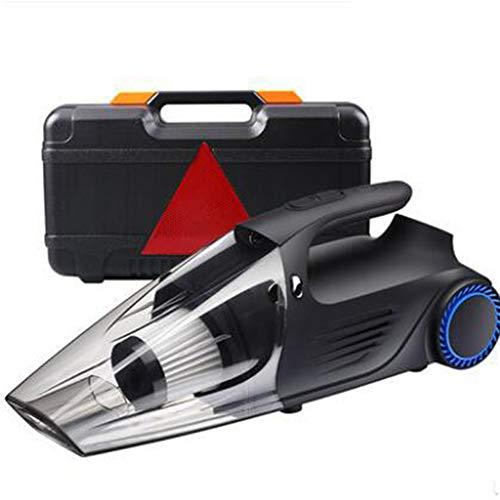 ZT-LINFEN Auto-Staubsauger, Handstaubsauger Akku Beutellos Testsieger, (Nass & Trocken, Staubsauger / 80 Sekunden Schnellladung/Beleuchtung/Reifendruckanzeige 4-In-1-Digitalanzeige)