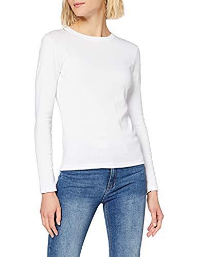 Petit Bateau 5340901 T-Shirt, Blanc (Ecume 01e), Large/20 Ans Womens
