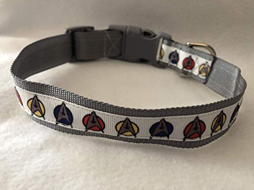 Star Trek Dog Collar, Puppy Collar, Custom Dog Collar, Star Trek Gifts