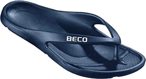 Beco Schwimmen Strand Am pool Pantoffeln V-Riemen Zehentrenner zum Reinschlüpfen Ultraleichten Poolshoe - schwarz - schwarz, Schwarz, 38