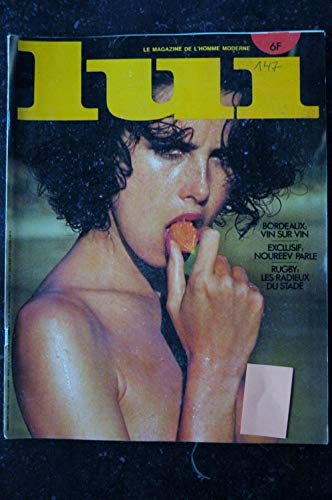 LUI 147 AVRIL 1976 INTERVIEW RUDOLF NOUREEV DAYLE HADDON NUDE AUTO RENAULT R5 RALPH NADER PIN-UP ASLAN