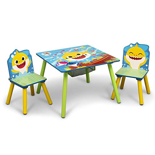 Baby Shark Kids Table and Chair ...