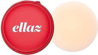 Ellaz | Nippz Nude - Pezoneras de silicón reutilizables con micro orillas Color Crema
