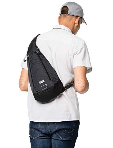 Jack Wolfskin Unisex– Erwachsene Delta Freizeittasche, Black, One Size