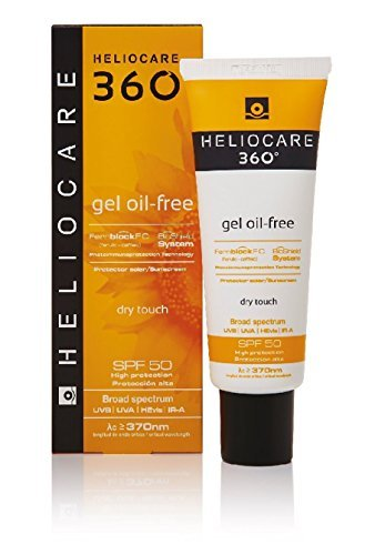 Heliocare 360 Gel Oil Free Dry Touch Face Spf50 50ml by Heliocare
