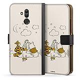 DeinDesign Étui Compatible avec Huawei Mate 20 Lite Étui Folio Étui magnétique Winnie l'ourson...