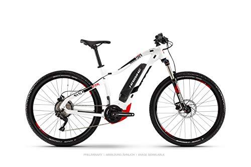 Haibike Sduro HardSeven 2.0 - Bicicleta eléctrica, 27,5 pulgadas, color blanco, negro...