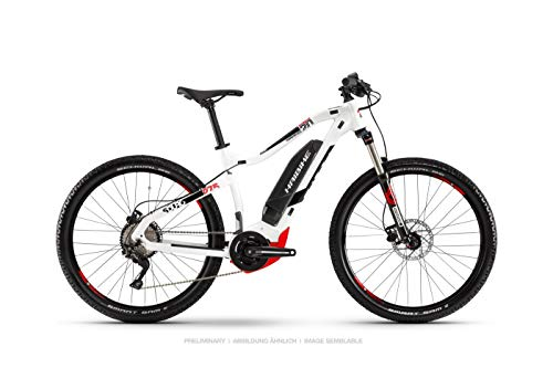 HAIBIKE Sduro HardSeven 2.0 27.5'' Pedelec E-Bike MTB weiß/schwarz/rot 2019: Größe: L