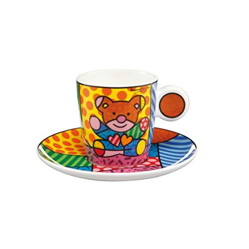 Goebel Pop Art Romero Britto Truly Yours - Espressotasse Neuheit 2019 66452281