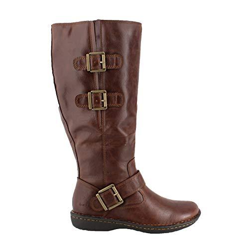 b.o.c. Women's, Virginia Wide Shaft Boots Brown 8.5 M