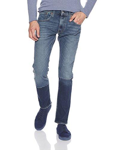 Levi's Men's 65504 Skinny Fit Jeans (6901379693685_65504-0352_34W x 32L_Blue)