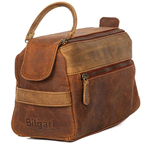 Leather Toiletry bag for men, Travel Toiletry bag for women, Mens Toiletry Travel bag, Hygiene bag, Birthday gifts for Men, Shaving Toiletries, Shave Dopp kits, Toiletry kit