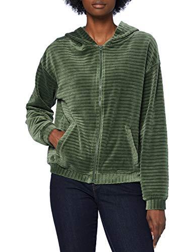 edc by Esprit 090CC1J305 Sudadera, Verde (345/Kaki Claro), XL para Mujer