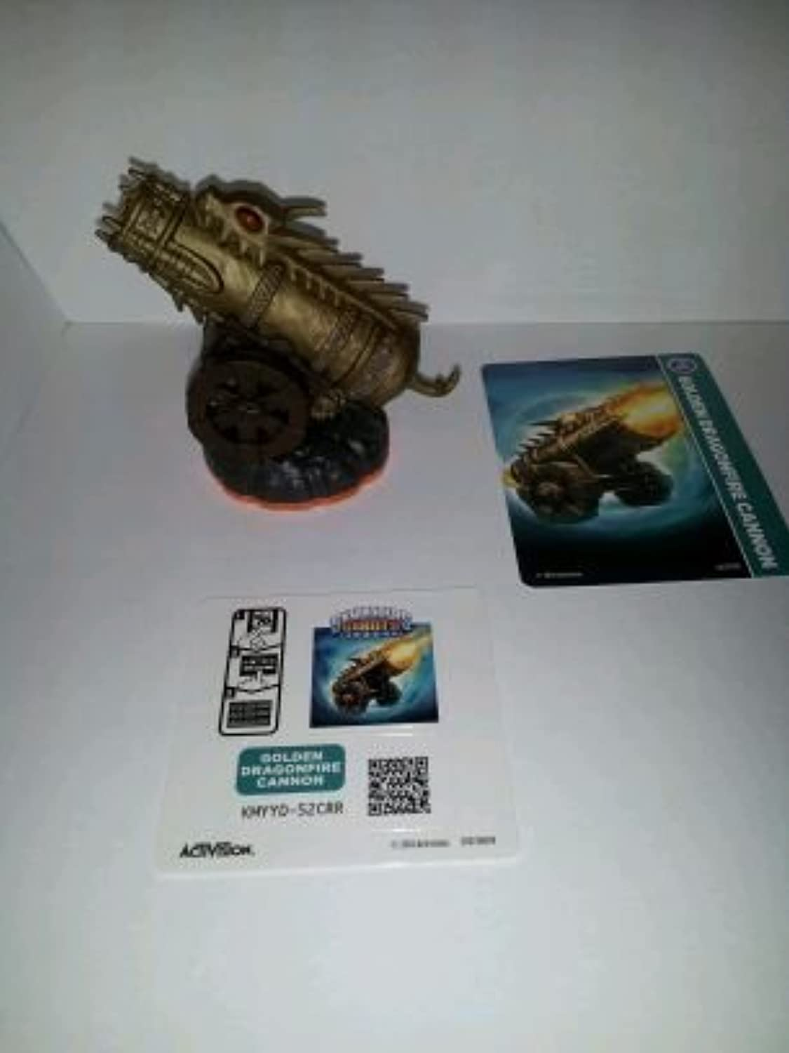 Skylanders Giants LOOSE Figure Golden Dragonfire Cannon [Includes Card & Online Code] by Activision [並行輸入品]