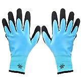 Guantes de trabajo resistentes al frío, antideslizantes impermeables antideslizantes, protección contra el frío anticorte de 3 niveles a -30 ℃, para almacenamiento en frío(10)