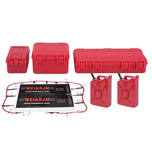 DAUERHAFT Red de Equipaje RC Maleta RC de tamaño pequeño, Duradera y Realista 1/8 1/10 Modelo de Coche RC sobre orugas
