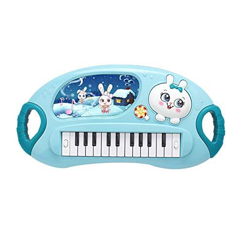 HENG Klaviertastatur Kinder, Elektronische Tastatur Multifunktionelle Klavier Piano Musikinstrument Spielzeug für Kinder