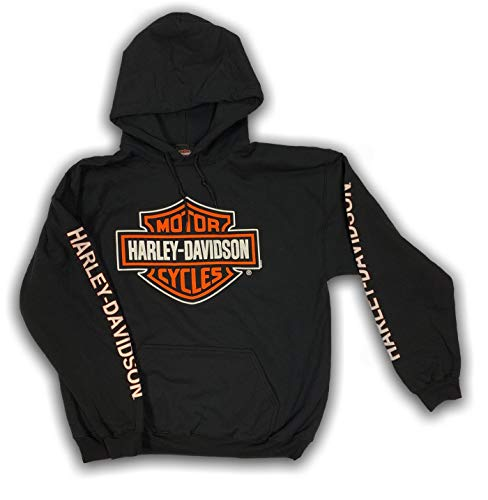 Harley-Davidson Men's Bar & Shield Logo Pullover Hooded Sweatshirt