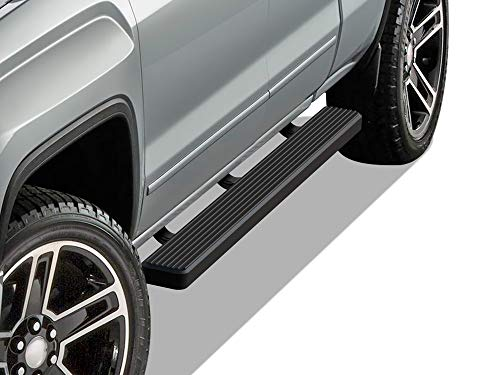 APS iBoard Running Boards 5 inches Matte Black...