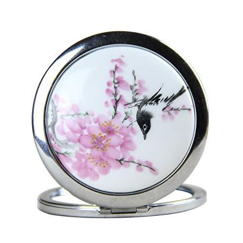 Drawihi Mini Miroir Miroir De Maquillage Miroir Portable Voyage Cadeau pour Femmes Filles