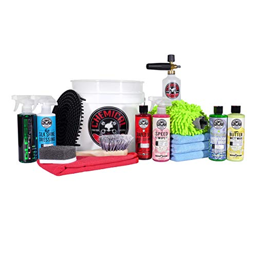 Chemical Guys HOL169 16Piece Arsenal Builder Wash Kit with Torq Foam Cannon Bucket and 6 16 Oz Care Products Gift for Car amp Truck Lovers Dads and DIYers