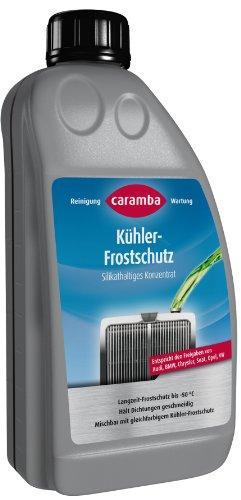 Caramba 69609801 Kühlerfrostschutz 1 Liter - Silikathaltig (entspr. VW G11, Farbe: grün)