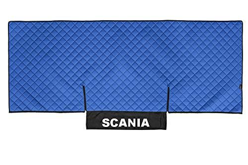 AutoCommerse Tagesdecke für Scania P & G Serie 05–16, PU-Leder, Blau
