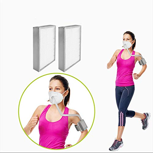 Find Bargain Rechargeable Electrical Air Purifying Respirator Wacinten US Reusable 3 Speeds Fan Mode...