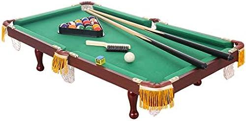 LiPengTaoShop Tischbillard Billardtisch Kinderheim Indoor Mini Spielzeug Ball Tisch American schwarz 8 Standard Snooker Fancy Billard Baby Pool Billard (Farbe   Grün, Größe   92  52  30cm)