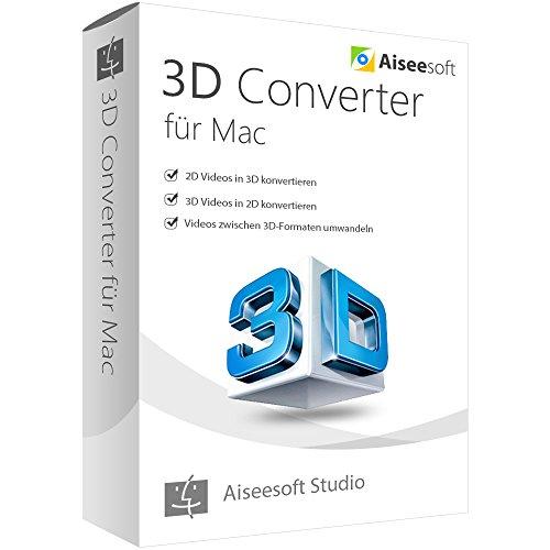 3D Converter MAC Vollversion (Product Keycard ohne Datenträger)