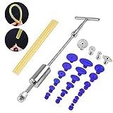Fansport Dent Repair Tool Kit T Abzieher Dent Lifter Tab Mit Klebestiften