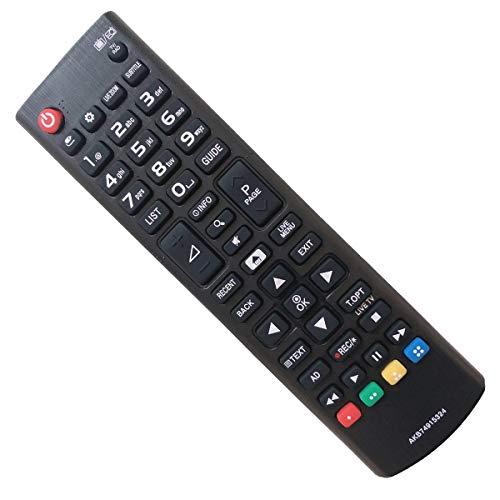 EAESE Mando LG AKB74915324 Mando a Distancia para LG Smart TV 32LH604V 43UH664V 49LH590V 49UH664V 50UH635V 55UH6159