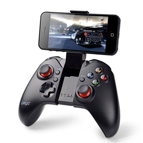 Gamepad Android, PowerLead Mando de Juego inalámbrico portátil, Compatible con teléfono, PC, PS3, Android, Vista