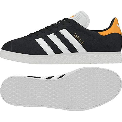 adidas Herren Gazelle Fitnessschuhe, Grau (Carbon/Ftwbla/Ororea 000), 38 2/3 EU