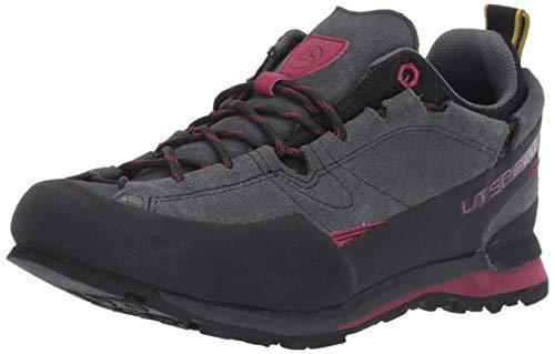 La Sportiva Boulder X Women's Approach Shoe, Carbon/Beet, 38.5