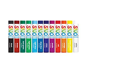 Giz Pastel a Óleo, CIS, 51.8800, Multicor, pacote de 12