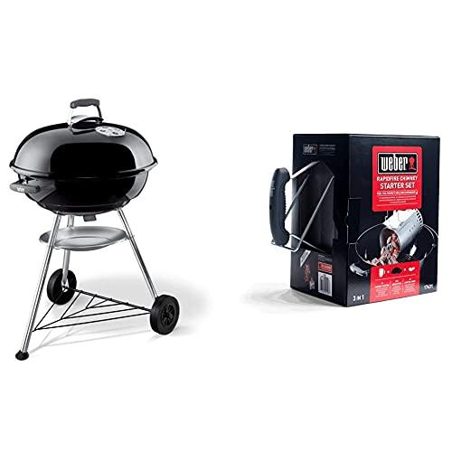 Weber 1321004 - Barbecue compatto a carbone, 57...
