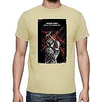 latostadora - Camiseta October Equus Rio para Hombre Crema M