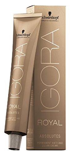 Schwarzkopf Igora Royal Absolut 7-50 - Medium Blond Gold Natur Haarfarbe / Tönung 60ml Rohr