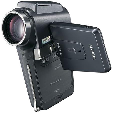 SANYO ハイビジョン対応デジタルムービーカメラ Xacti (ザクティ) DMX-HD2(K) ブラック