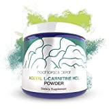 Acetyl L-Carnitine Powder | HCL Form | 125 Grams | ALCAR | Amino Acid Supplement | Energy Supplement | Supports Mitochondrial Function, Weight Loss, and Healthy Aging