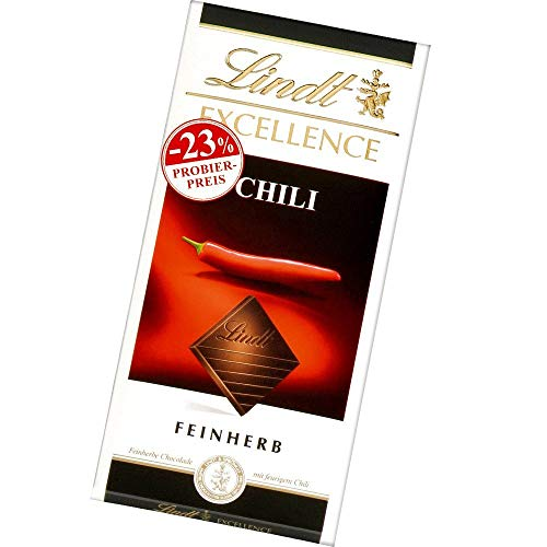 Excellence Promotion, feinherbe Schokolade mit Chili-Extrakt (1 x 100 g)
