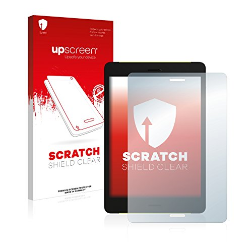 upscreen Schutzfolie kompatibel mit Pocketbook Surfpad 4 M – Kristallklar, Kratzschutz, Anti-Fingerprint