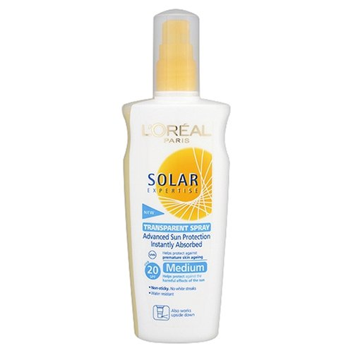 L'Oréal - Spray transparent invisible protection avancée indice 20 - Solar Expertise - 200 ml
