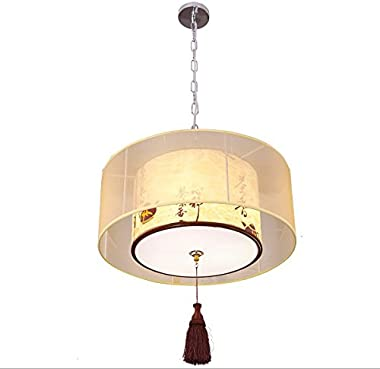 New Chinese Teahouse Restaurant chandelier Cozy Dining Room den Bedroom lamp Retro Chinese Style chandelier