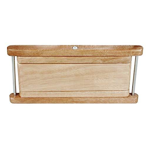 Holz-Gitarre Fußbank Folding Konzertgitarre Fußablage Höhenverstellbarkeit Massivholz-Gitarren-Banjo-Pedal Musikinstrumententeile Ersatzteile ( Color : Beige )