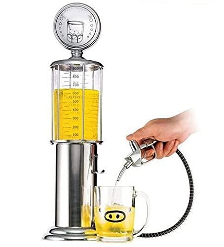 Mini dispensador de vinos Crystal Gas Station Style Liquor Decanter Bar Accesorios, Beber Herramienta separada for la cerveza, el vodka y el vino, las herramientas de la barra de la cocina de los vino