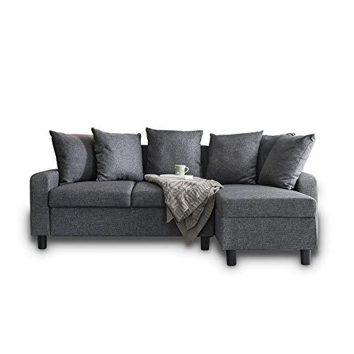 Laura James Corner Sofa Left & Right Hand Side (Grey)